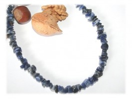 Colliers - Collier sodalite naturelle