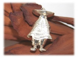 Broche Mexicain Argent