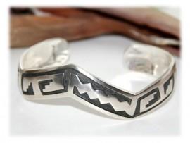 Bracelet Rigide Homme Argent