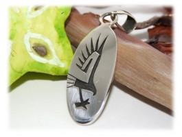 Pendentifs - Pendentif aigle stylisé