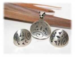 Bijoux Ethniques - Parure de bijoux originale