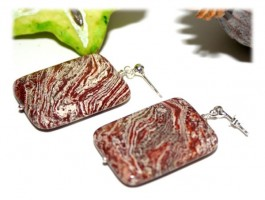 Boucles d'Oreilles Jaspe - Boucles d'oreilles jaspe picture