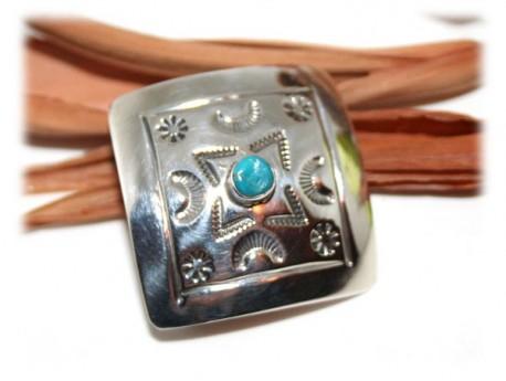 d9c3ec85d44 Boucle de Ceinture Turquoise Argent Turquoise