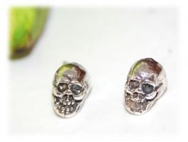 Bijoux Tête de Mort - Boucles d'oreilles tête de mort