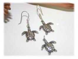 Pendentif Tortue - Pendentif petites tortues