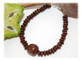 Bracelet Bois Argent