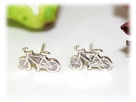 Boucles d'oreilles vélo