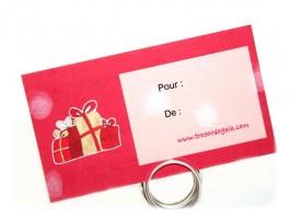 Cartes et Chèques Cadeaux - Etiquette cadeau