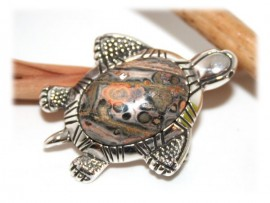 Broche Tortue Agathe Argent