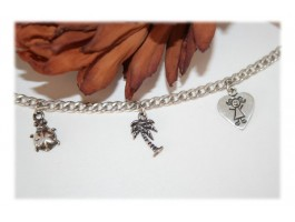 Bijoux Saint-Valentin - Bracelet pampilles fantaisie