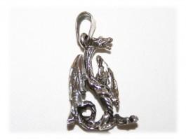 Bijoux Noël - Pendentif dragon