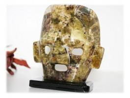 Bijoux Fête des Pères - Masque aztèque pierres naturelles