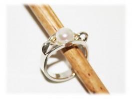 Bijoux Femme - Bague perle nacre et