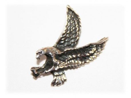 Pendentif Aigle Royal Argent Massif