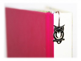 Marque Pages Chouette Argent 925