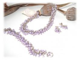 Parure de bijoux perles eau douce