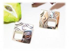 Boucles d'Oreilles Mode Argent