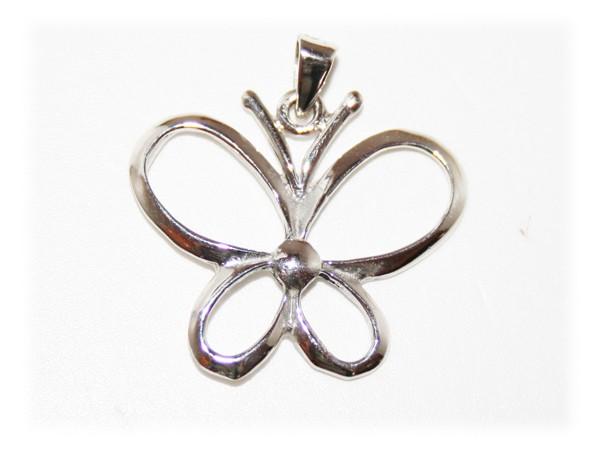 Pendentif papillon fleur pendentif papillon bijoux - Papillon fleur ...