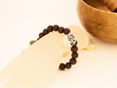 Bracelet méditation Bois Arbre de Vie
