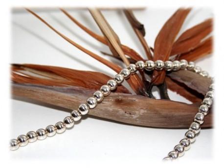 Collier Perles d'Argent Argent